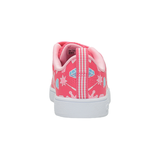 Mädchen-Sneakers mit Print adidas, Rosa, 101-5533 - 16