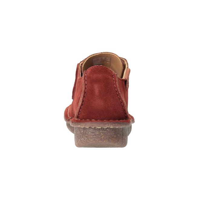Legere Damenhalbschuhe clarks, Rot, 623-5033 - 16