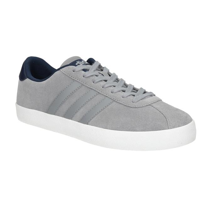 Graue Leder-Sneakers adidas, Grau, 803-7197 - 13