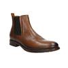 Braune Chelsea Boots aus Leder bata, Braun, 896-3673 - 13