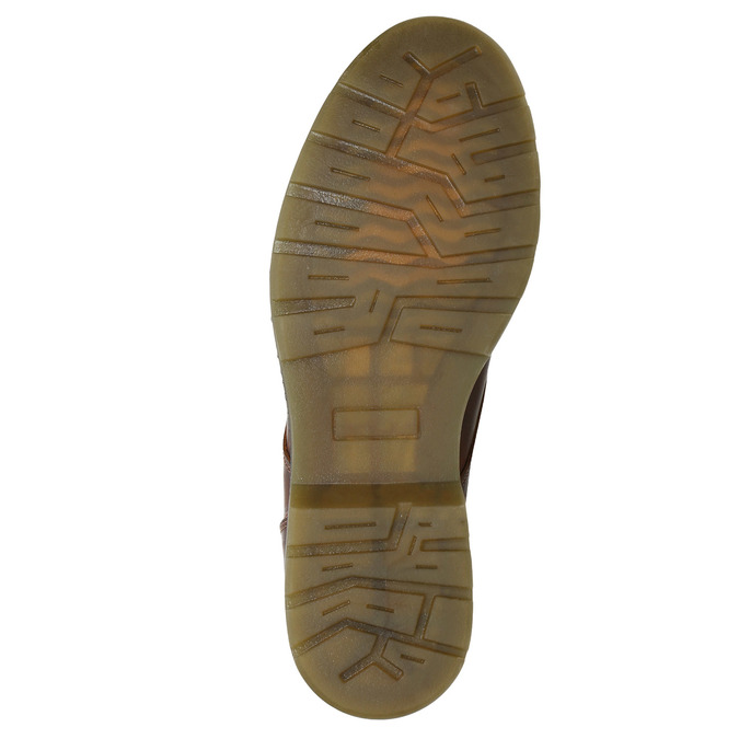 Knöchelhohe Damenschuhe mit Reissverschluss bata, Braun, 596-3681 - 17
