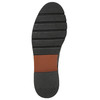 Weinrote Chelsea Boots aus Leder bata, Rot, 596-5657 - 19
