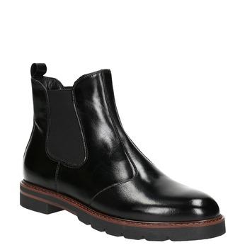 Damen-Chelsea-Boots aus Leder bata, Schwarz, 596-6657 - 13