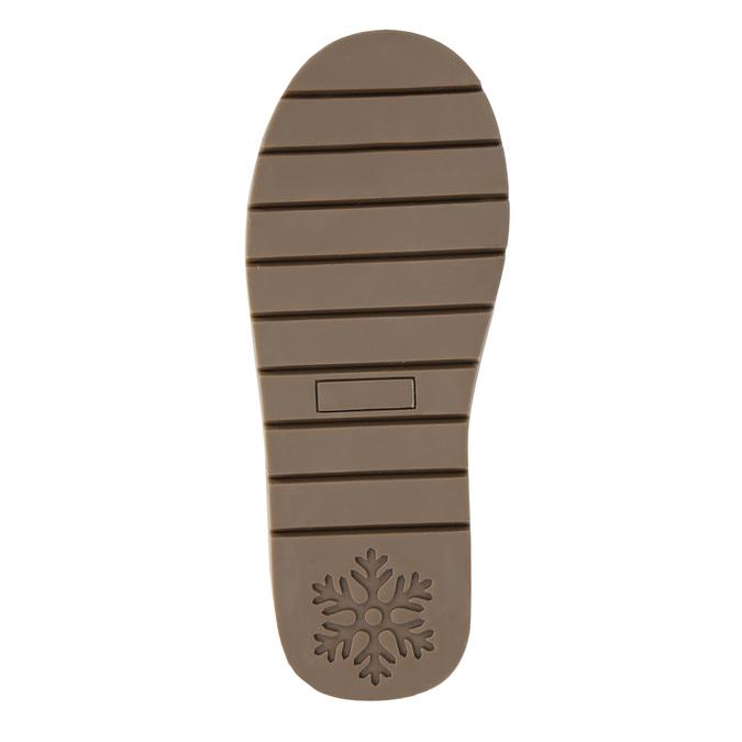 Velours-Stiefel für Kinder bata, Blau, 393-9604 - 19