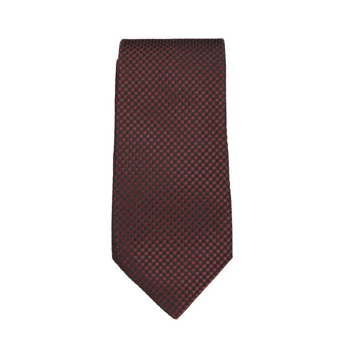 Set, bestehend aus Krawatte, Einstecktuch und Manschettenknöpfen bata, Rot, 999-5293 - 26