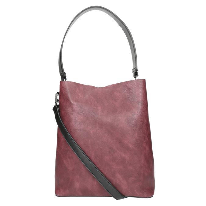 Zweifarbige Damenhandtasche bata, Schwarz, 961-6173 - 26
