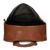 Lederrucksack für Herren bata, Braun, 964-4278 - 15