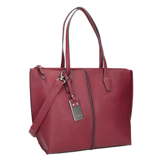 Rote Damenhandtasche gabor-bags, Rot, 961-5059 - 13