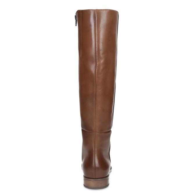 Braune Lederstiefel bata, Braun, 594-4637 - 15