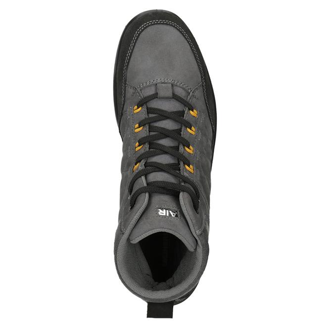 Herren-Outdoor-Schuhe aus Leder weinbrenner, Grau, 846-2647 - 15