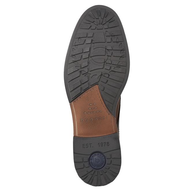 Herren-Knöchelschuhe aus Leder bugatti, Braun, 826-3005 - 17