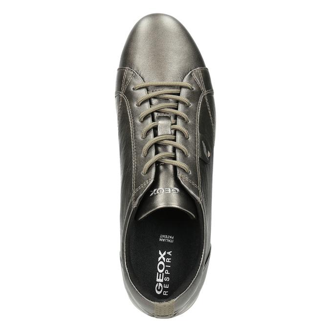 Damen-Sneakers aus Leder geox, Braun, 526-8090 - 15