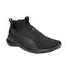 Schwarze Damen-Sneakers ohne Schnürung puma, Schwarz, 509-6200 - 13