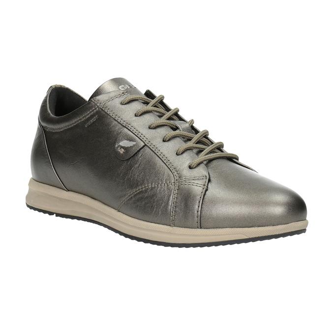 Damen-Sneakers aus Leder geox, Braun, 526-8090 - 13