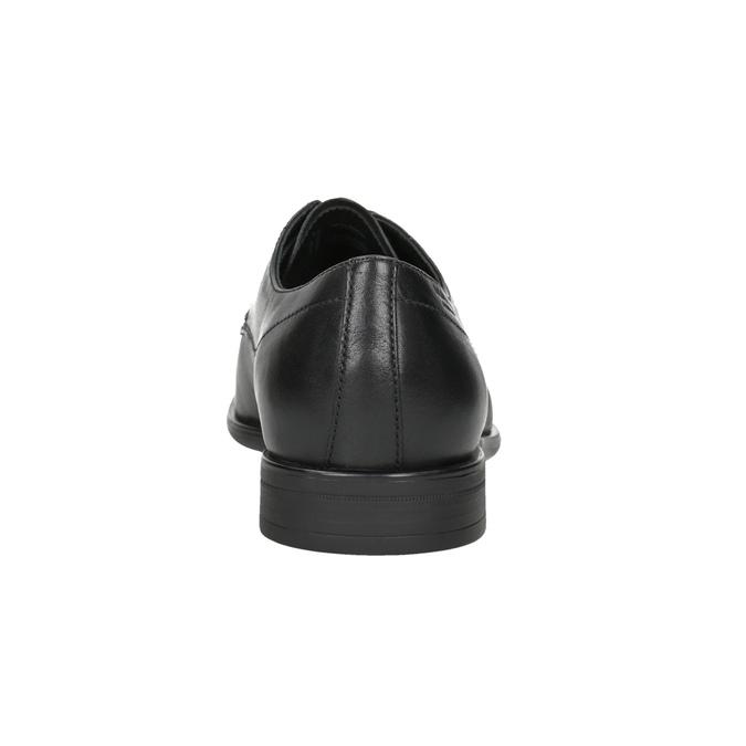 Herrenhalbschuhe aus Leder vagabond, Schwarz, 824-6026 - 16