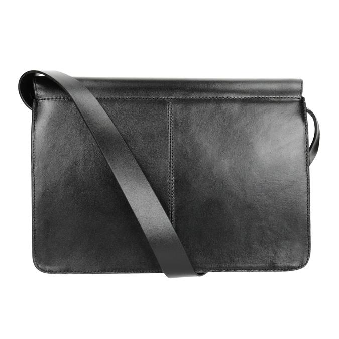 Schwarze Crossbody-Handtasche aus Leder vagabond, Schwarz, 964-6086 - 16