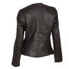 Damen-Lederjacke mit asymmetrischem Reißverschluss bata, Braun, 974-4177 - 26