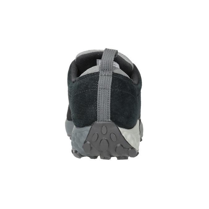 Herren-Sneakers aus Leder merrell, Schwarz, 803-6571 - 16