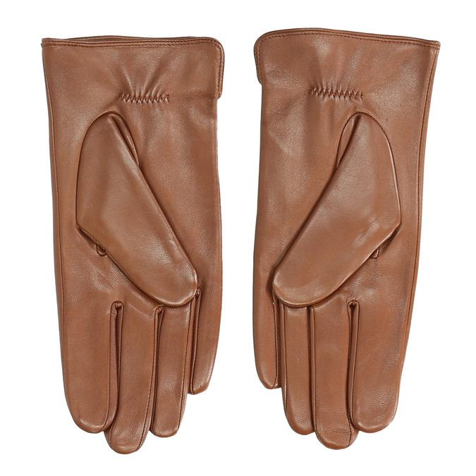 Braune Lederhandschuhe bata, Braun, 904-3129 - 16