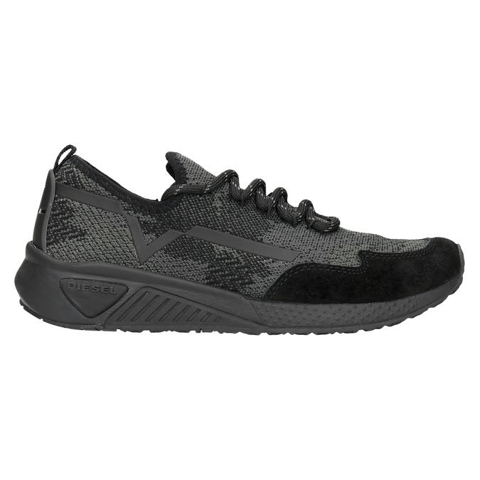 Sportliche Damen-Sneakers diesel, Schwarz, 509-6760 - 16