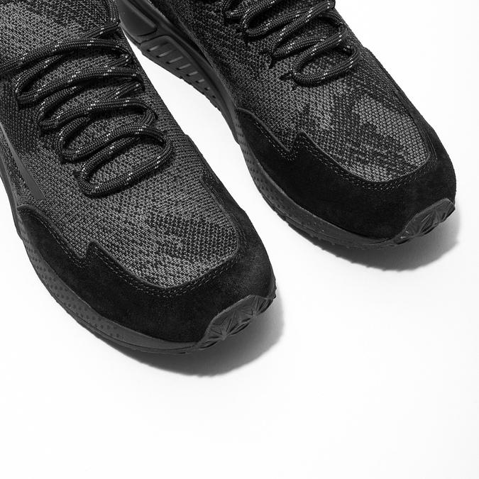 Sportliche Damen-Sneakers diesel, Schwarz, 509-6760 - 14