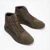 Knöchelhohe Sneakers aus geschliffenem Leder diesel, Braun, 803-4629 - 26