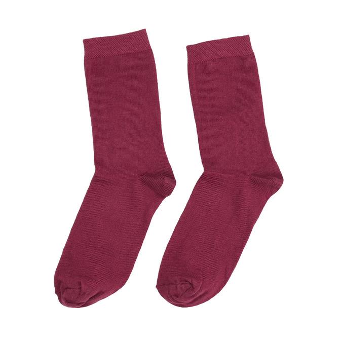 Weinrote Damensocken bata, Rot, 919-5303 - 26