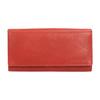 Rote Damen-Geldbörse aus Leder bata, Braun, 944-3203 - 26