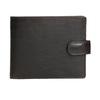 Herren-Geldbörse aus Leder bata, Braun, 944-4202 - 26