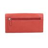 Rote Damen-Geldbörse aus Leder bata, Braun, 944-3203 - 16