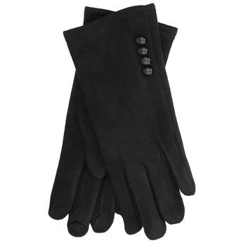 Damenhandschuhe aus Textil bata, Schwarz, 909-6612 - 13