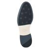 Herren-Lederhalbschuhe im Derby-Look bata, Blau, 826-9924 - 17