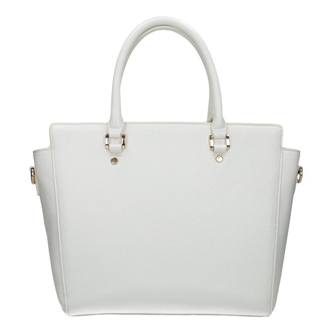 Weiße Damenhandtasche bata, Weiss, 961-1845 - 26