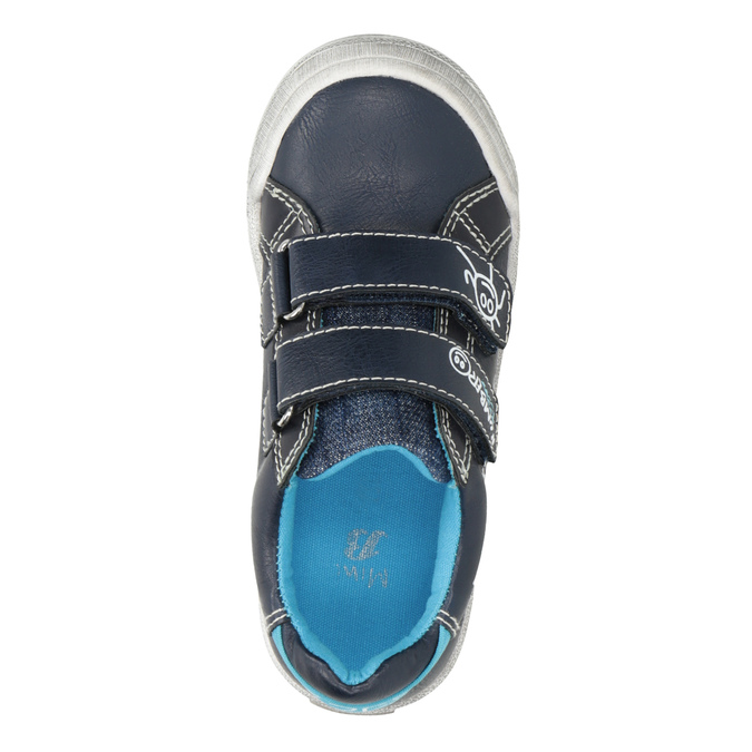 Legere Kinder-Sneakers mini-b, Blau, 211-9217 - 15