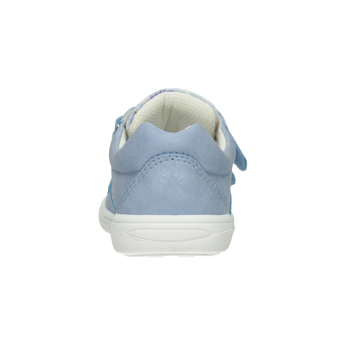 Gemusterte, blaue Kinder-Sneakers mini-b, 221-9215 - 16