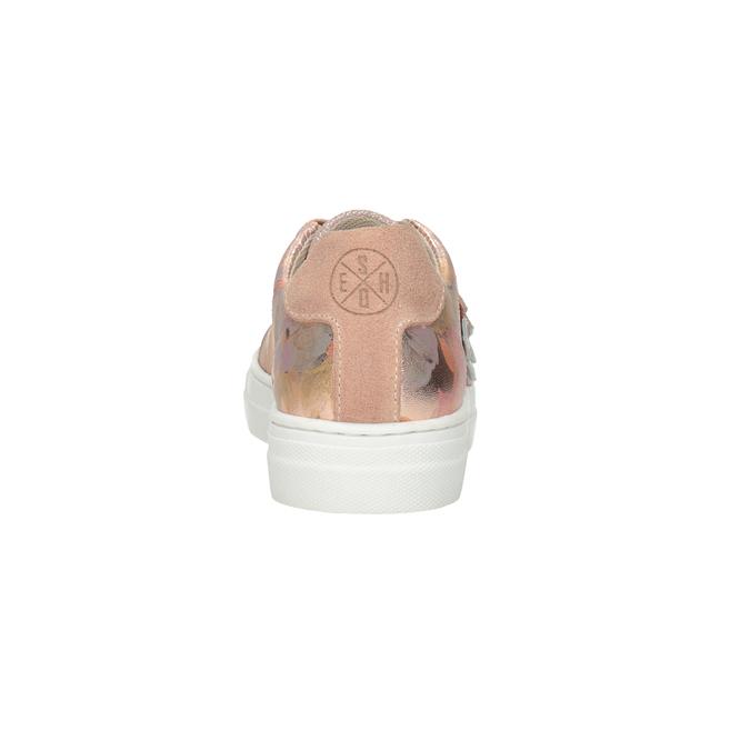 Mädchen-Sneakers aus Leder mit Blümchen mini-b, 326-5606 - 15