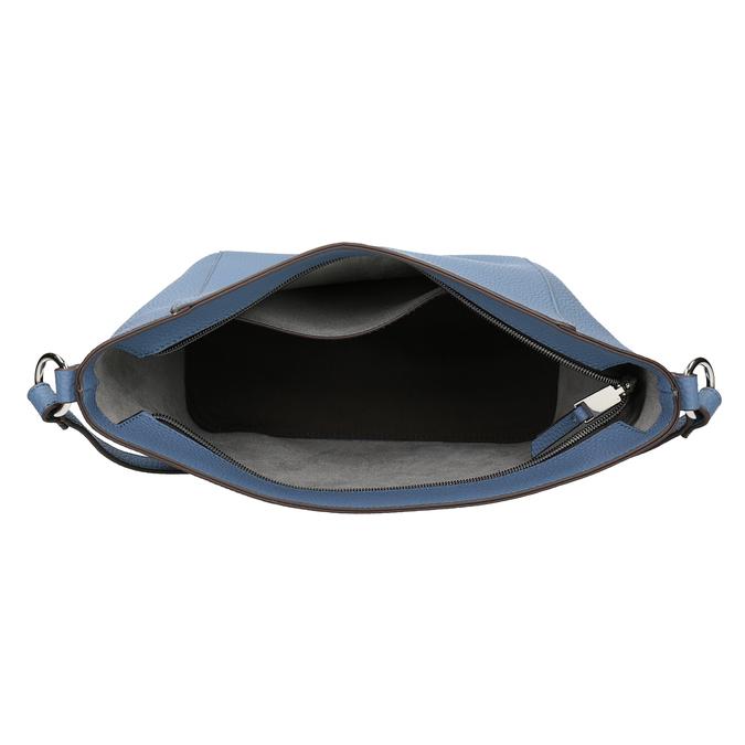 Blaue Crossbody-Damenhandtasche bata, Blau, 961-9842 - 15