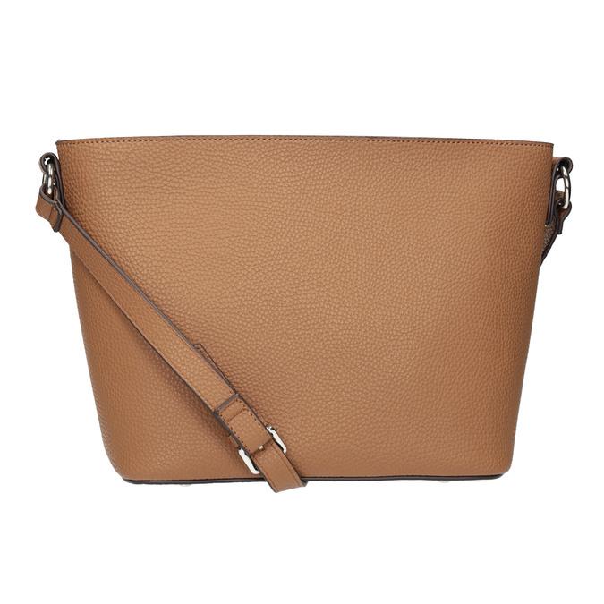 Braune Crossbody-Damenhandtasche bata, Braun, 961-4842 - 16