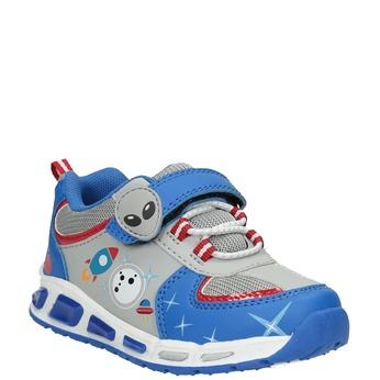 Kinder-Sneakers mit blinkender Sohle mini-b, Blau, 211-9102 - 13