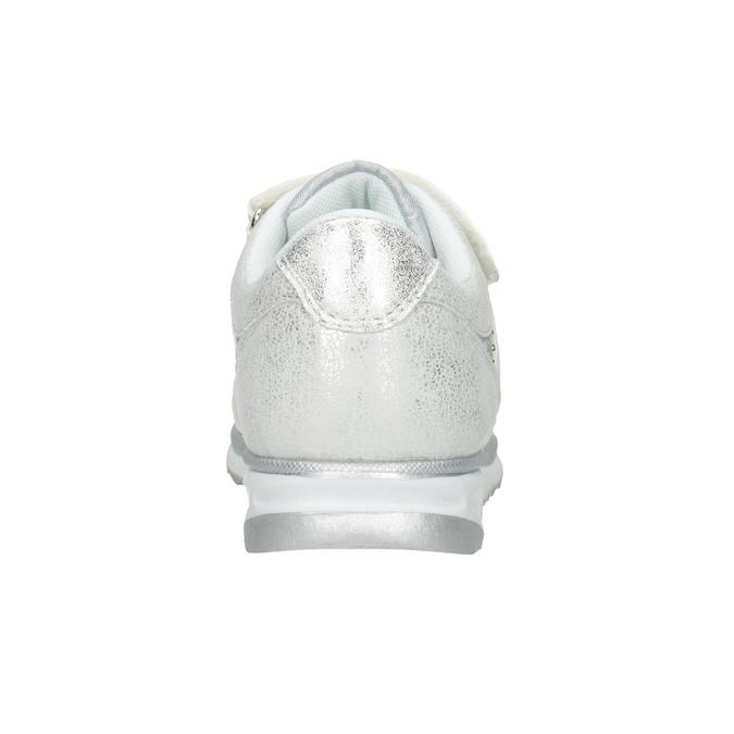 Silberne Kinder-Sneakers mit Steinchen mini-b, 329-1348 - 16