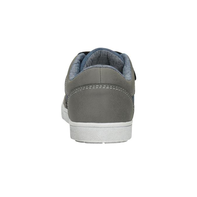 Kinder-Sneakers mit Klettverschluss mini-b, Grau, 411-2101 - 16