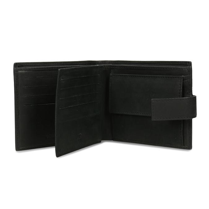 Herrengeldbörse aus Leder bata, Schwarz, 944-6210 - 15
