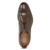 Herrenhalbschuhe aus Leder mit Verzierung bata, Braun, 826-4927 - 17