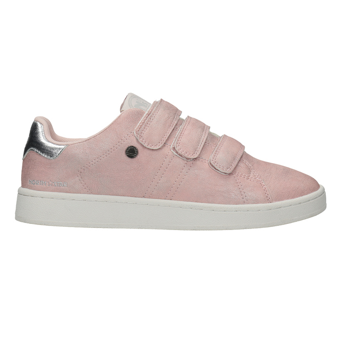 Legere, rosa Damen-Sneakers north-star, Rosa, 549-5604 - 16