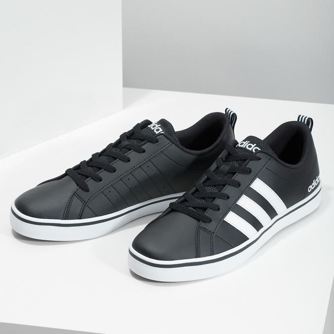 Legere Herren-Sneakers adidas, Schwarz, 801-6136 - 16