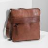 Braune Crossbody-Ledertasche bata, Braun, 964-4288 - 17