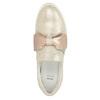 Leder-Slip-Ons mit Schleifchen bata, Rosa, 536-5600 - 15
