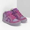 Mädchen-Sneakers aus Leder bubblegummer, Rosa, 123-5601 - 26