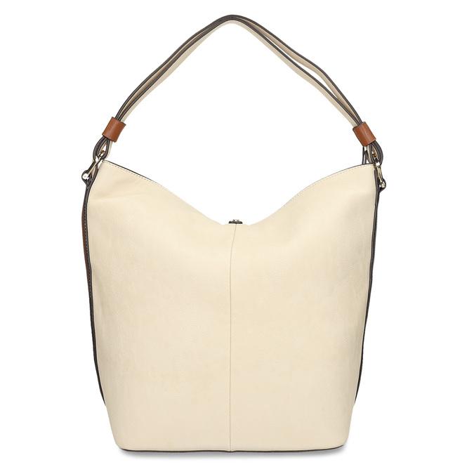 Handtasche im Hobo-Stil, Beige, 961-8705 - 16
